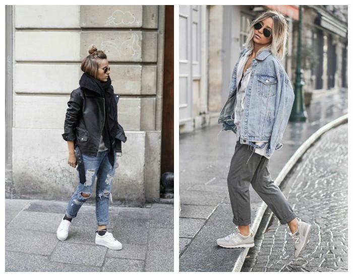 Street style осень-зима 2017-2018, коллекция фото