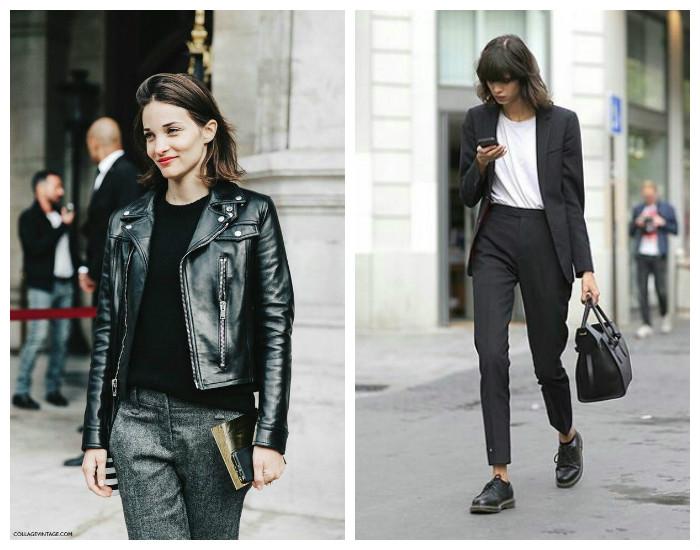 Street style модные брюки осень-зима 2017-2018, коллекция фото