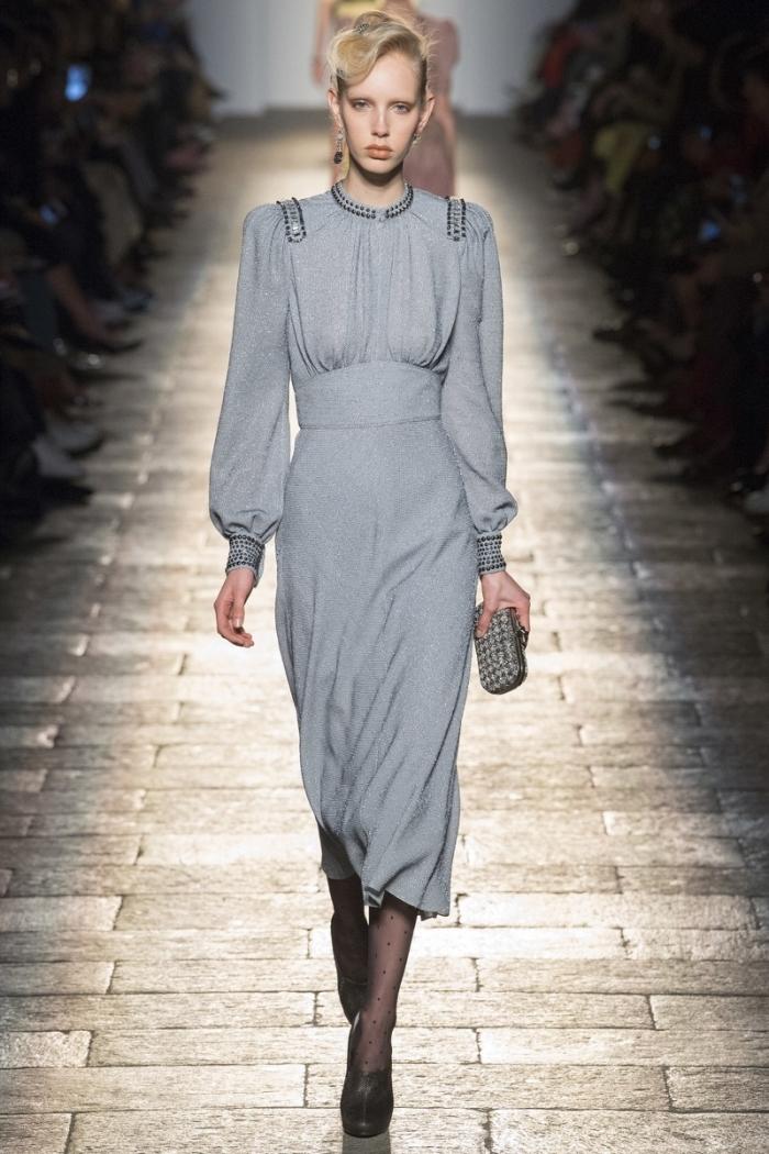 Модные платья осень-зима Bottega Veneta