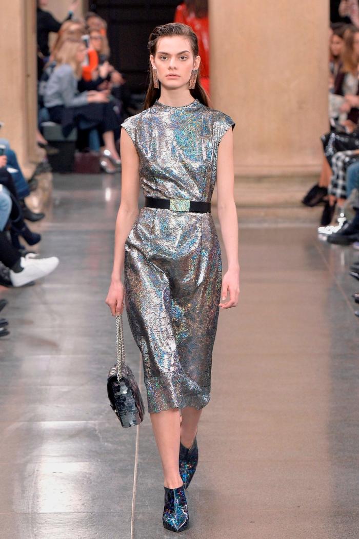 Модные платья осень-зима Christopher Kane