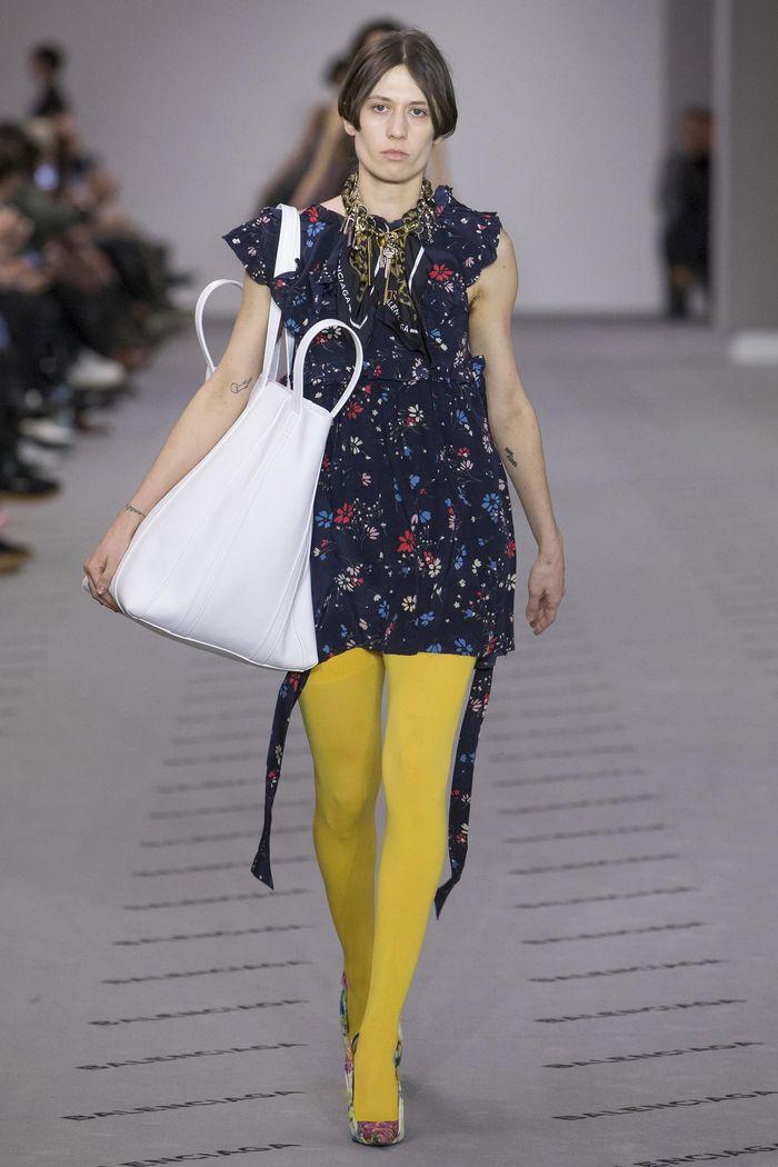 Модные платья осень-зима Balenciaga