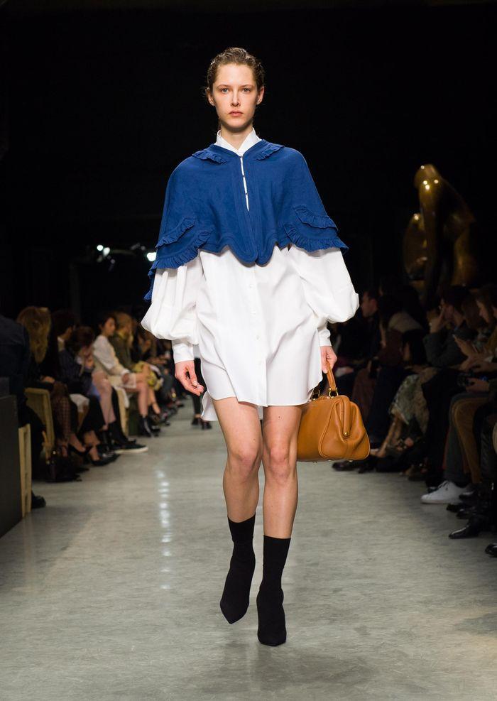 Модные платья осень-зима Burberry