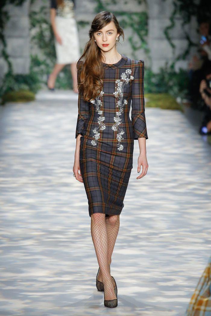 Модные платья осень-зима Jenny Packham