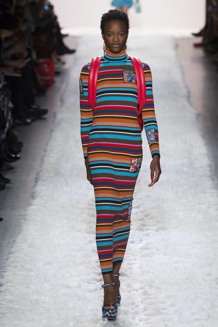 Модные платья осень-зима Jeremy Scott