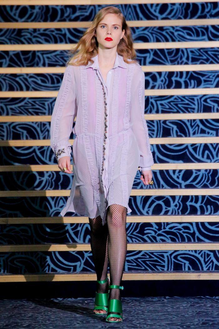 Модные платья осень-зима Jeremy Koché