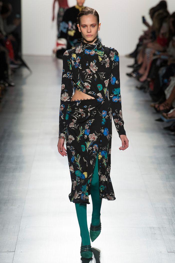Модные платья осень-зима Prabal Gurung
