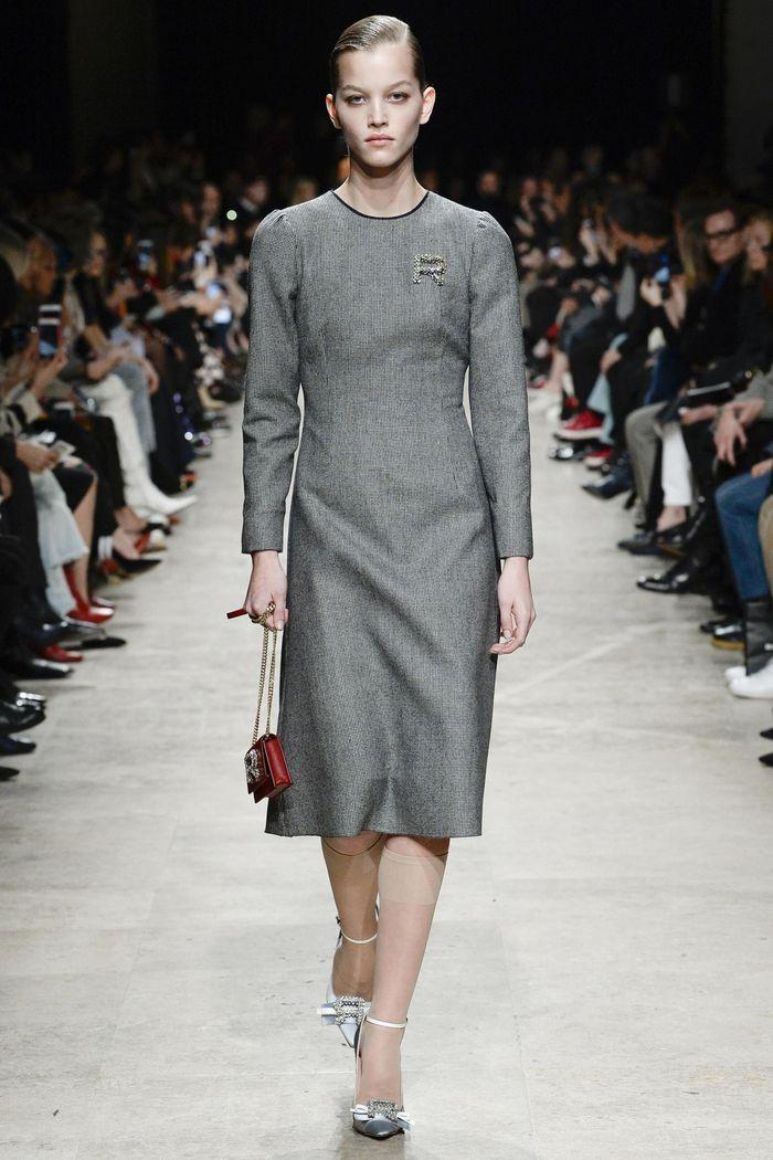 Модные платья осень-зима Rochas