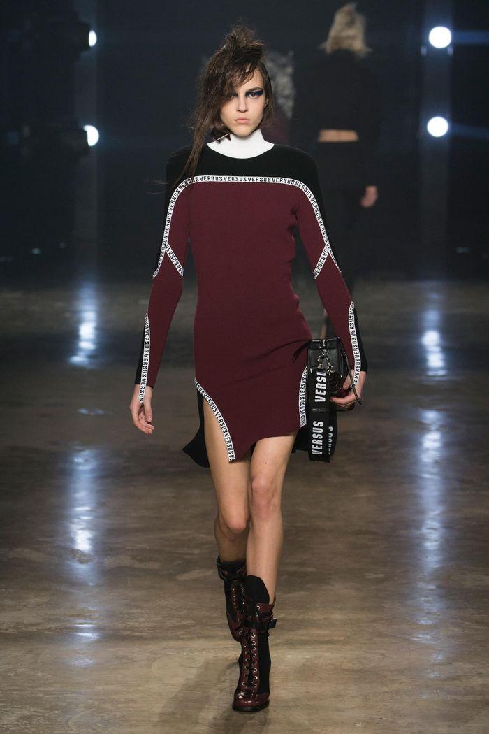 Модные платья осень-зима Versus Versace