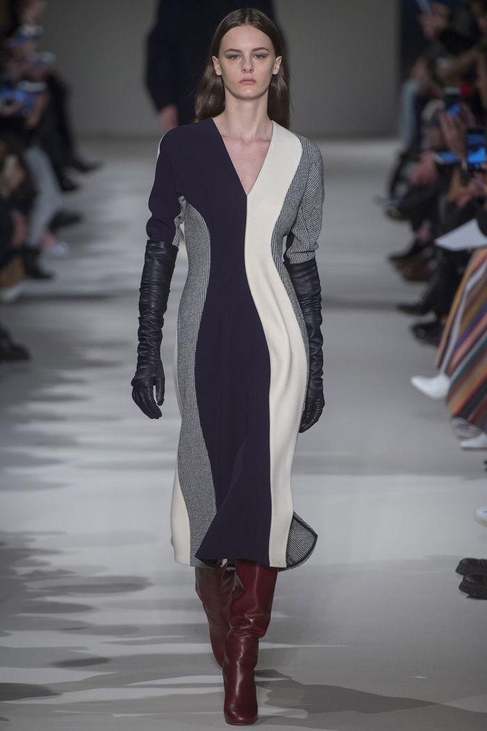 Модные платья осень-зима Victoria Beckham
