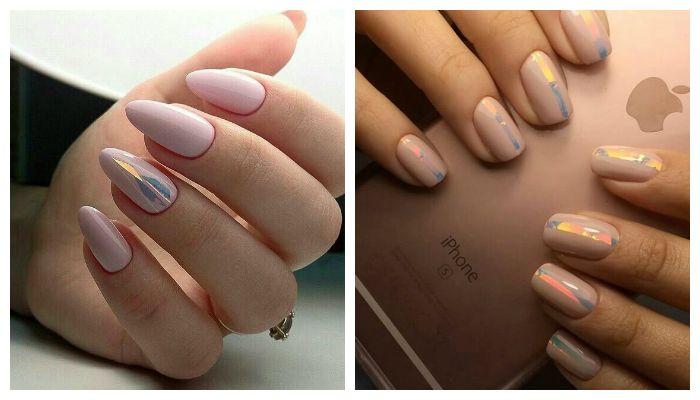 Дизайн ногтей в нежных тонах