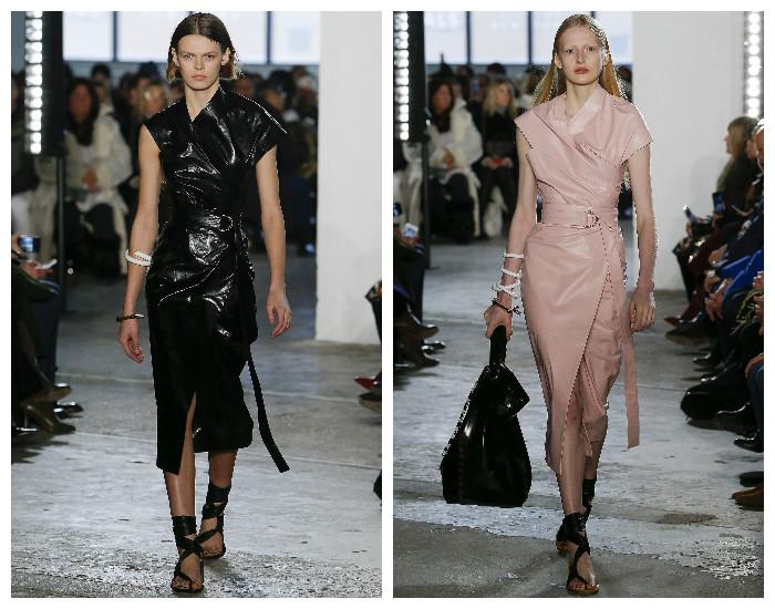 Модная одежда с асимметричным кроем