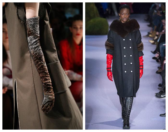 Модная деталь осень-зима 2017-2018 - удлиненные перчатки