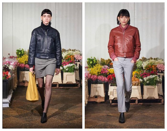 Модные кожаные куртки осень-зима 2017-2018