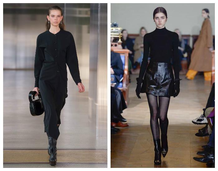 Модный цвет сезона осень-зима 2017-2018 - черный