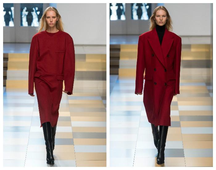 Модные цвета в одежде: эффектный бордовый