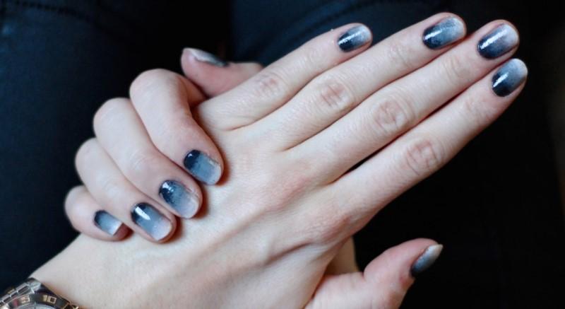 Как сделать омбре на ногтях гель-лаком: маникюр с растяжкой