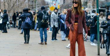 Модные брюки осень-зима 2017–2018