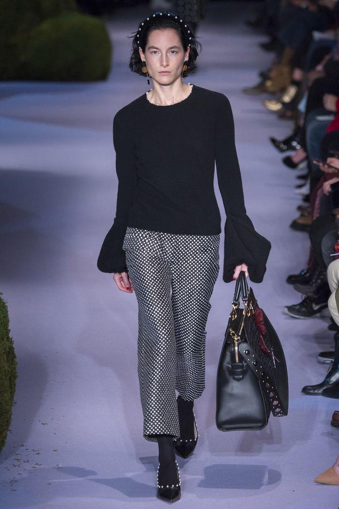 Модные брюки коллекция осень-зима 2017-2018 Altuzarra
