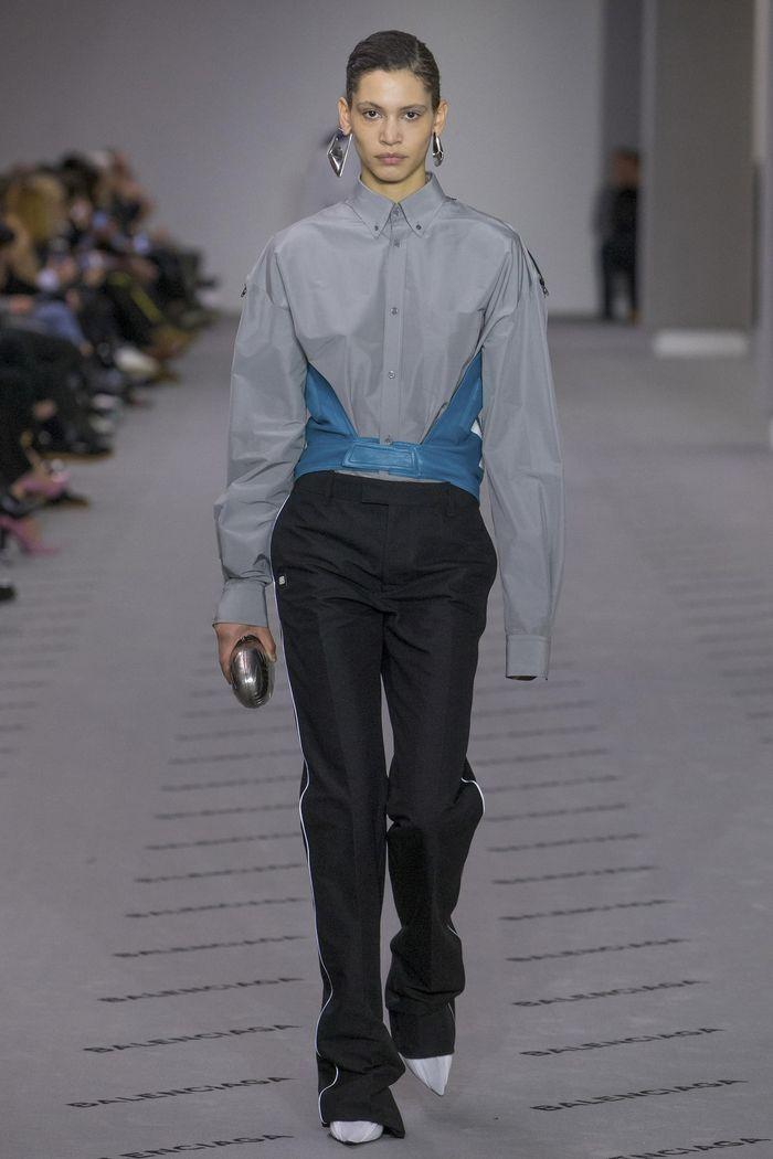 Модные брюки коллекция осень-зима 2017-2018 Balenciaga