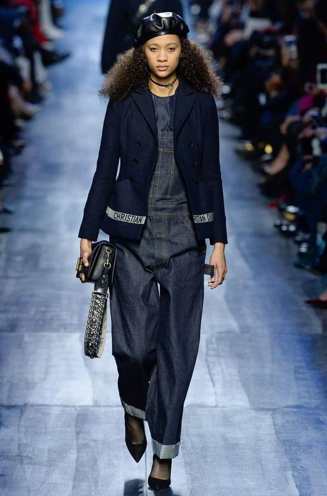 Модные джинсы коллекция осень-зима 2017-2018 Dior