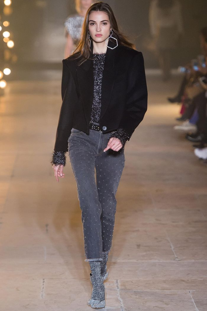 Модные джинсы коллекция осень-зима 2017-2018 Isabel Marant