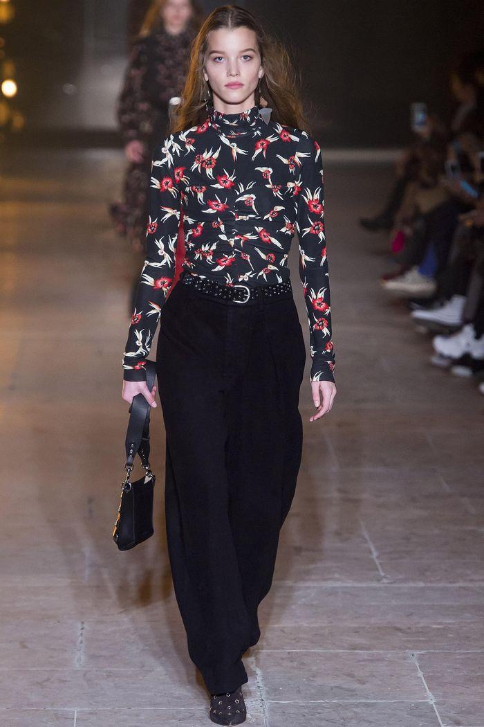 Модные брюки коллекция осень-зима 2017-2018 Isabel Marant