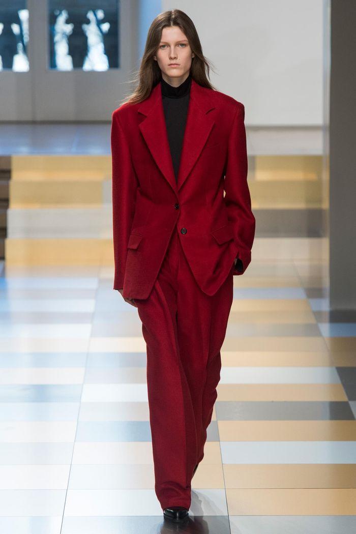 Модные брюки коллекция осень-зима 2017-2018 Jil Sander