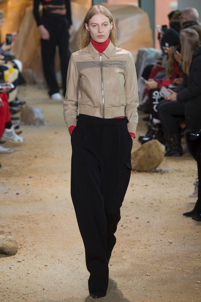 Модные брюки коллекция осень-зима 2017-2018 Lacoste