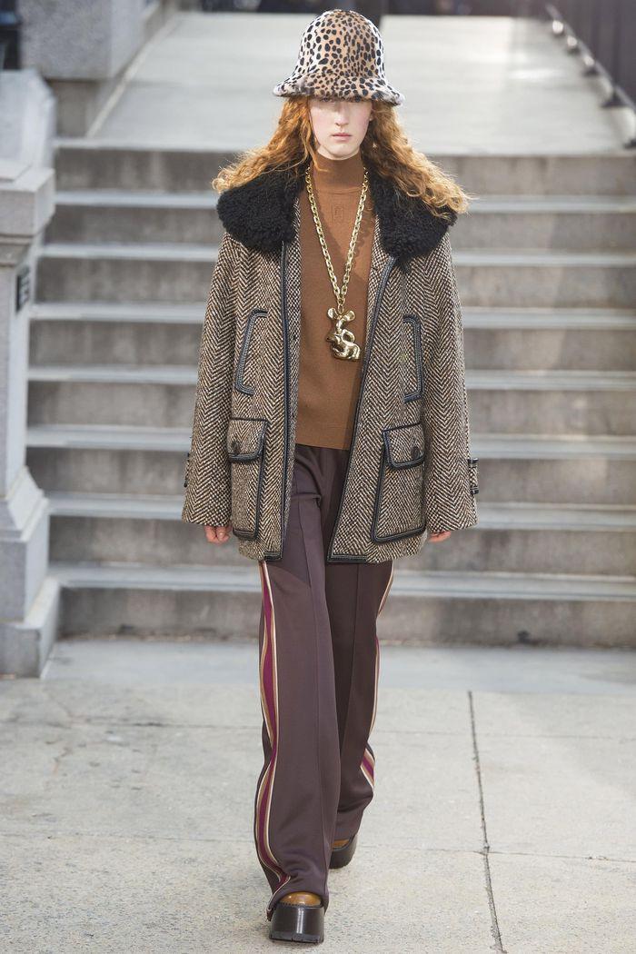 Модные брюки коллекция осень-зима 2017-2018 Marc Jacobs