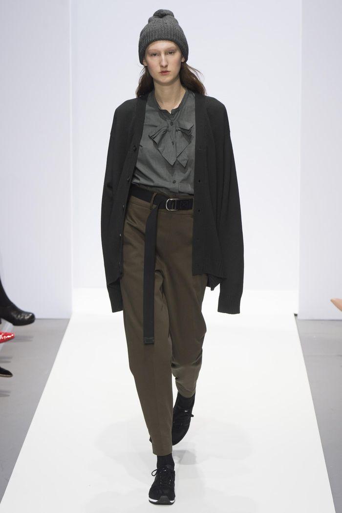 Модные брюки коллекция осень-зима 2017-2018 Margaret Howell