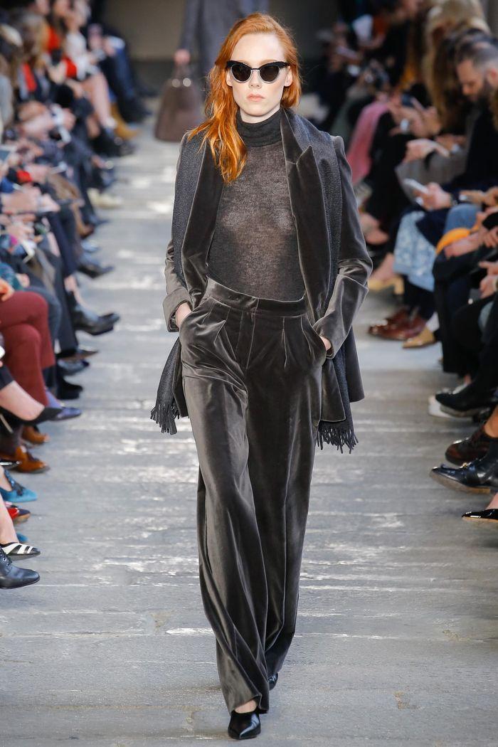 Модные брюки коллекция осень-зима 2017-2018 Max Mara
