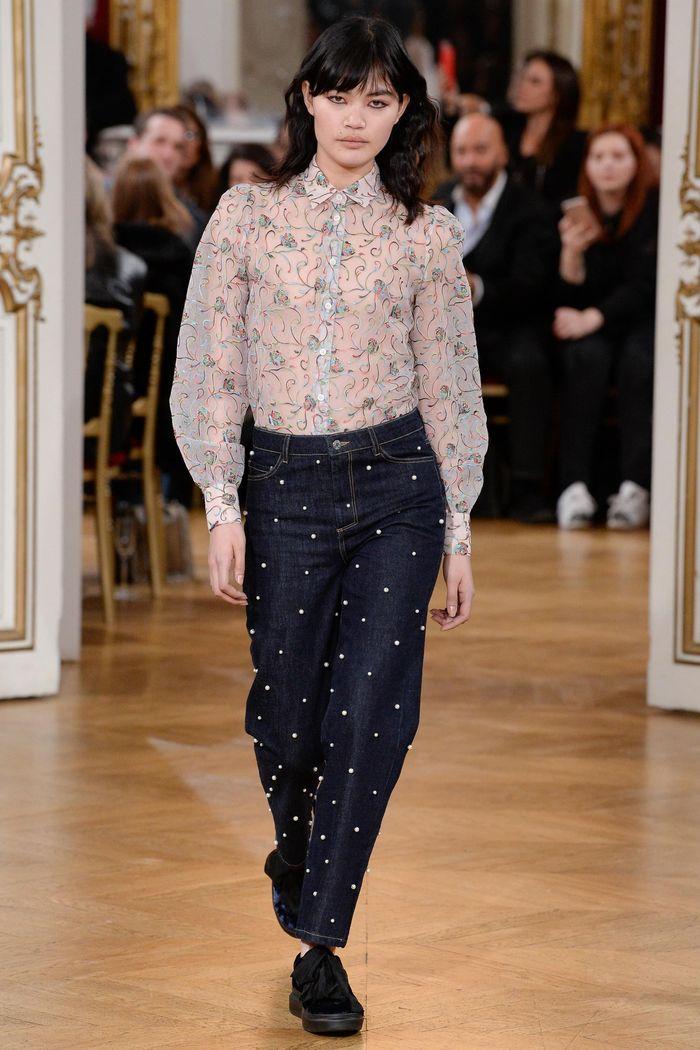 Модные джинсы коллекция осень-зима 2017-2018 Paul & Joe