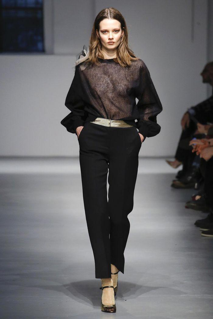Модные брюки коллекция осень-зима 2017-2018 Les Copains