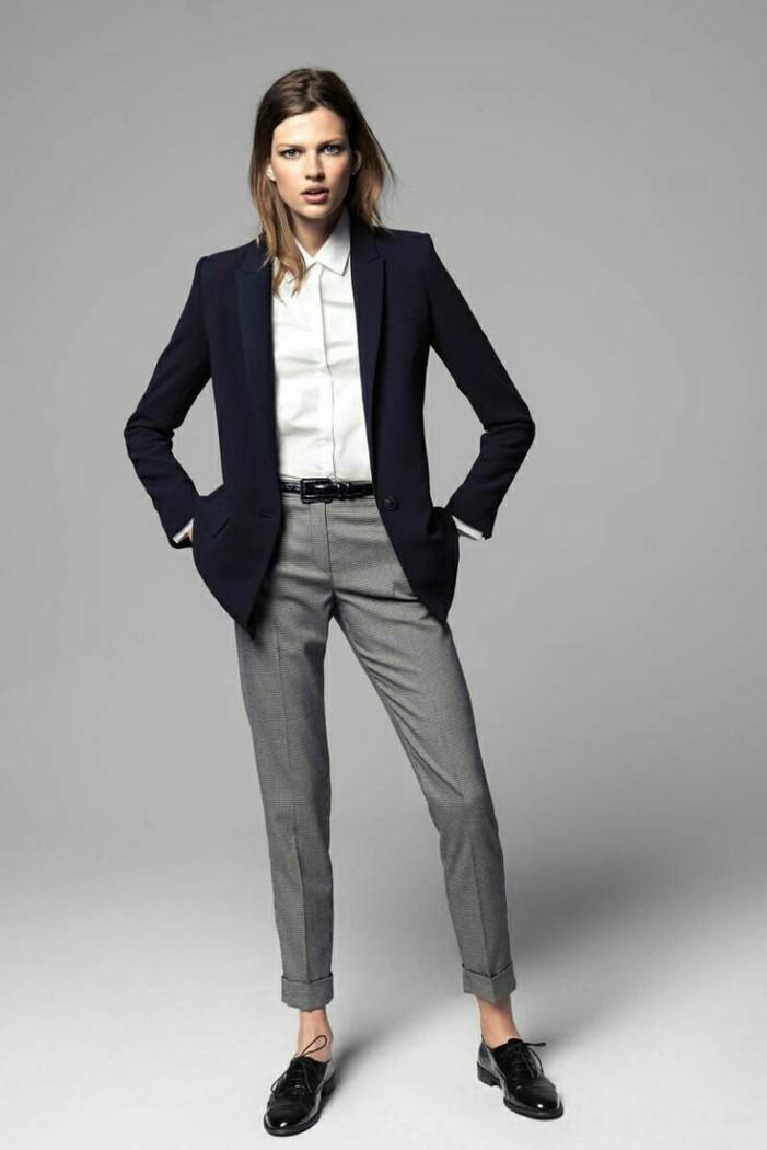 Женские брюки уличная мода (фото)