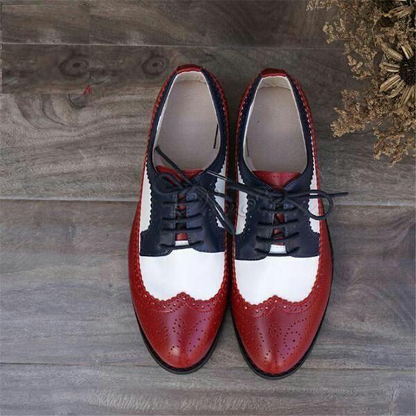 Модная обувь: оксфорды, коллекция осень-зима 2017-2018