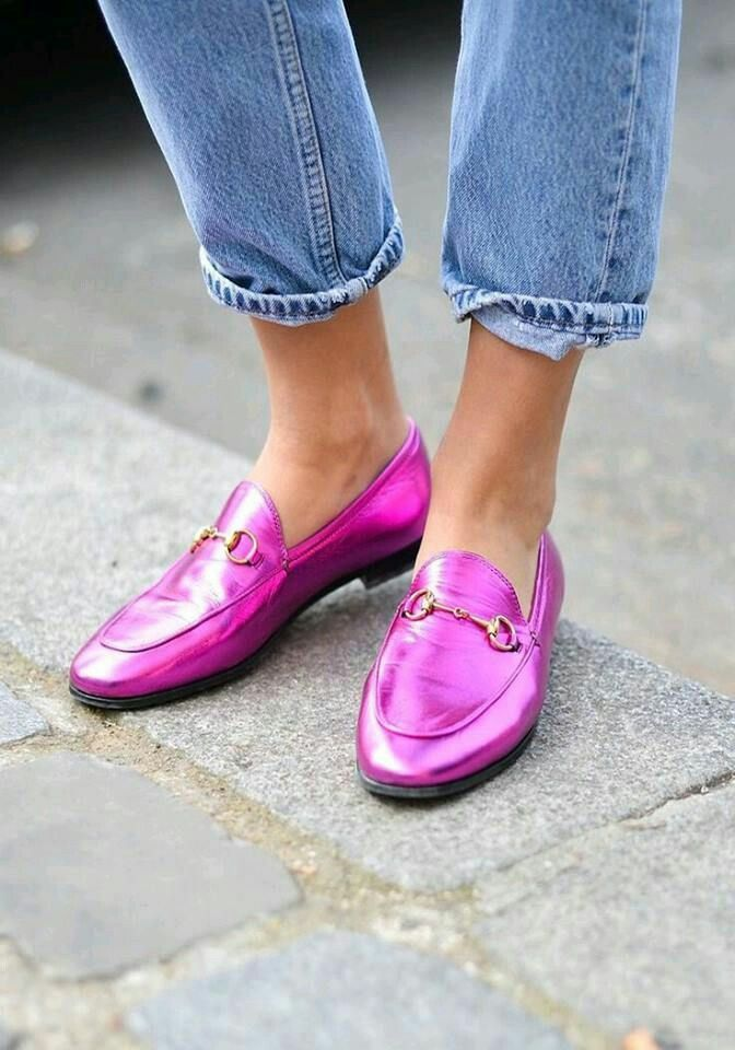 Модная обувь: лоферы, коллекция осень-зима 2017-2018
