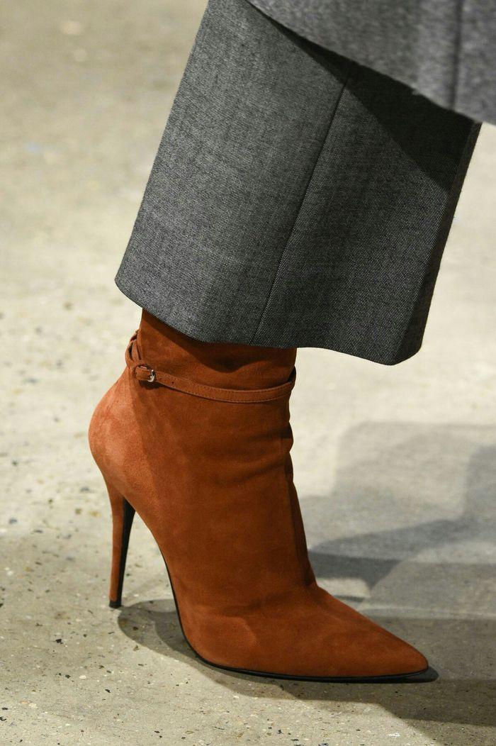 Модная обувь: острый носок, коллекция осень-зима 2017-2018