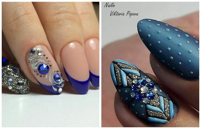 Варианты дизайна длинных ногтей шеллаком