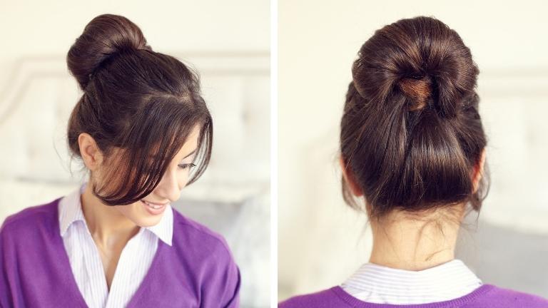 Самые простые прически на жидкие волосы