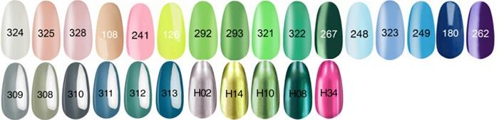Популярные цвета гель-лаков на примере коллекции KODI