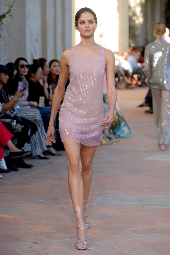 Модные платья Alberta Ferretti, 2018