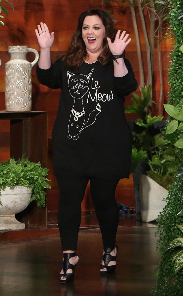 Как одеваться полным женщинам. Образы Мелиссы Маккарти