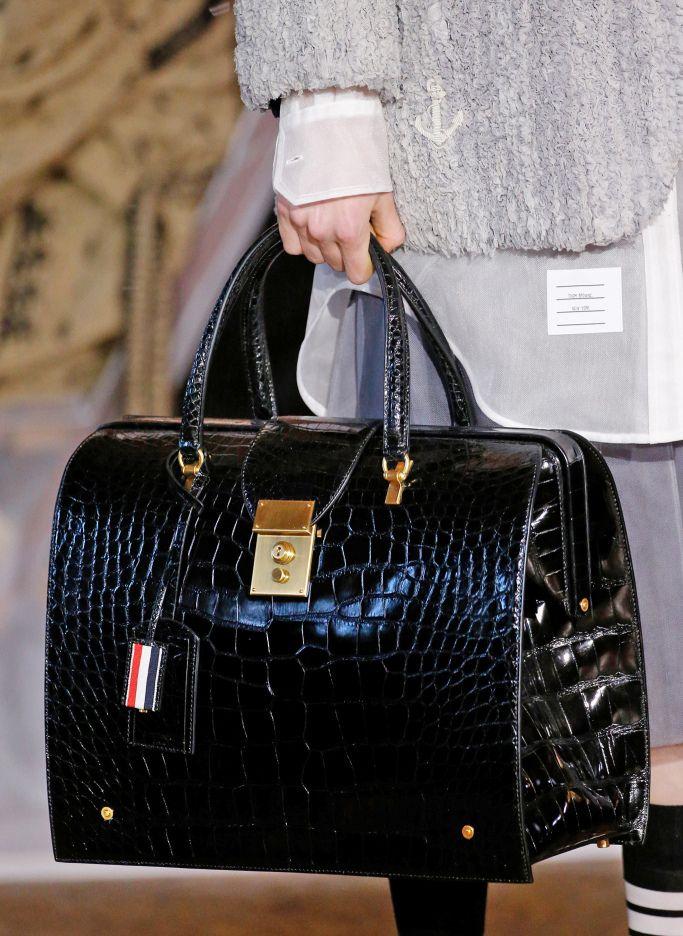 Модные сумки 2018 из кожи рептилий, фото