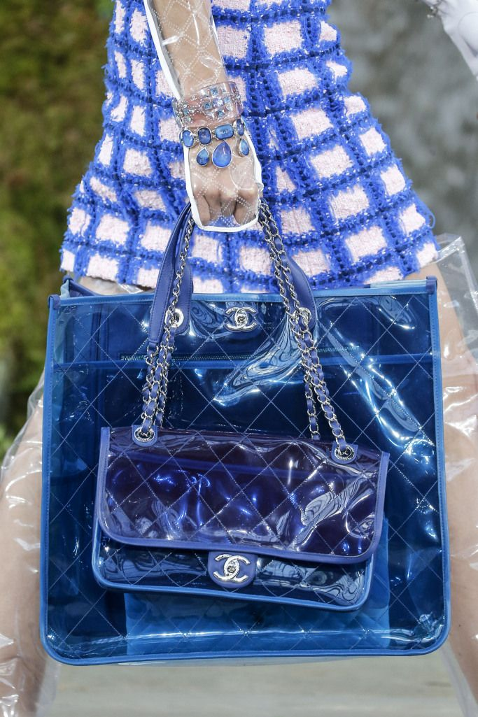 Модные прозрачные сумки 2018, фото
