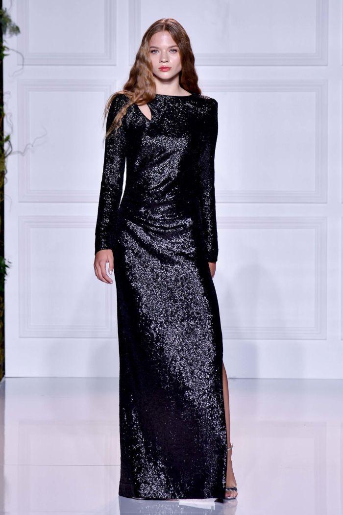 Платье с паетками Rachel Zoe