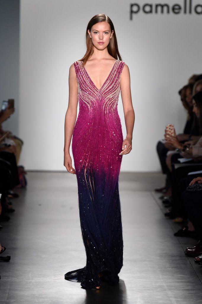 Красивые вечерние платья из коллекции Pamella Roland