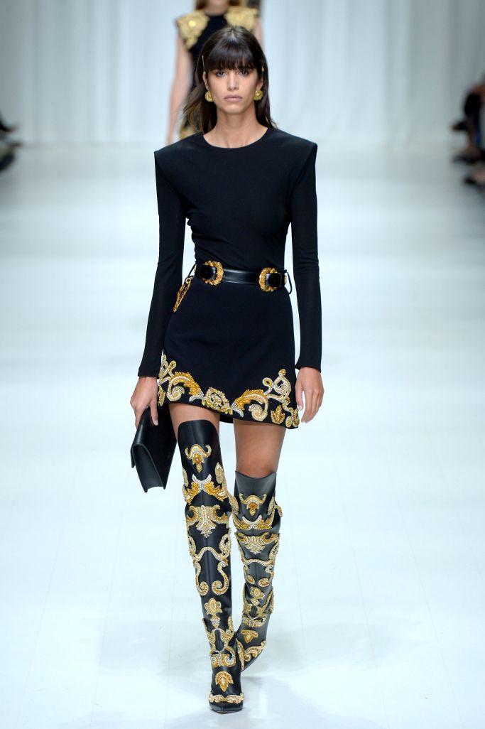 Платье из коллекции  Versace