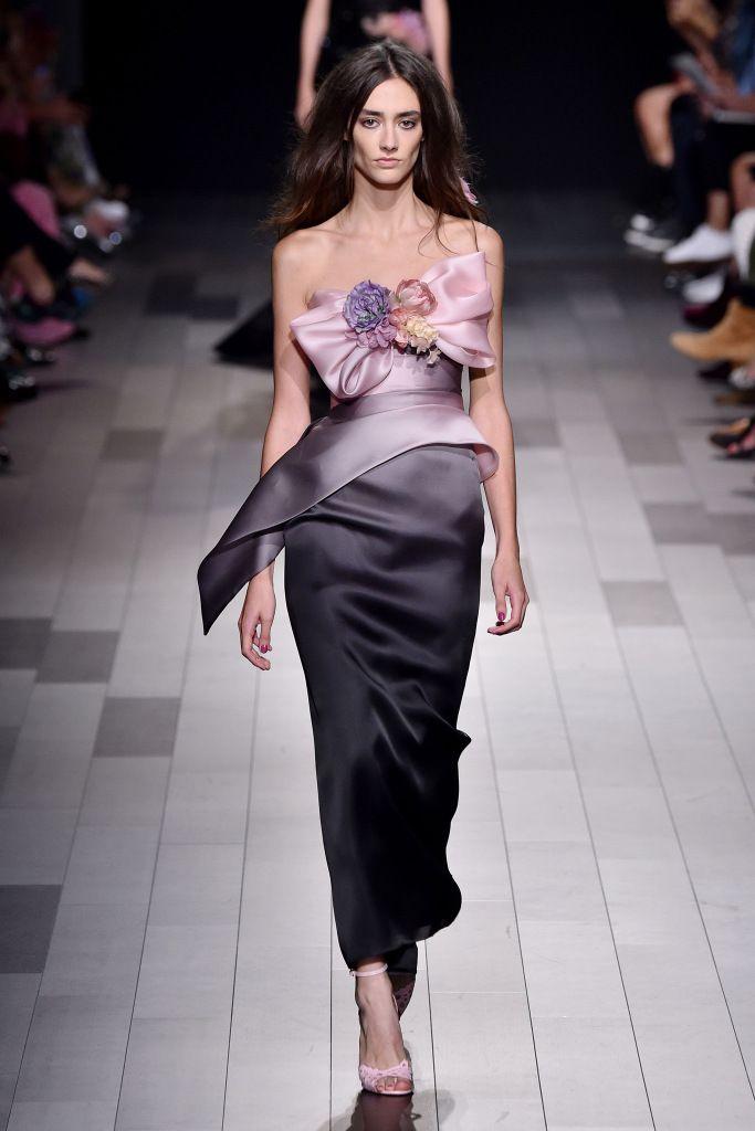 Вечерние платья из коллекции Marchesa