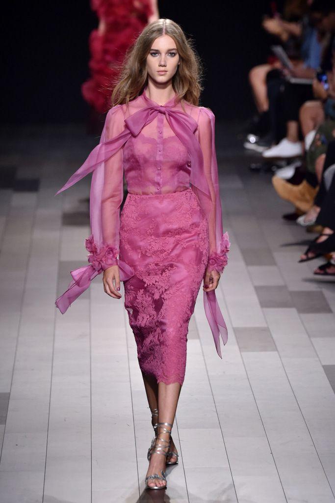Платье из коллекции Marchesa