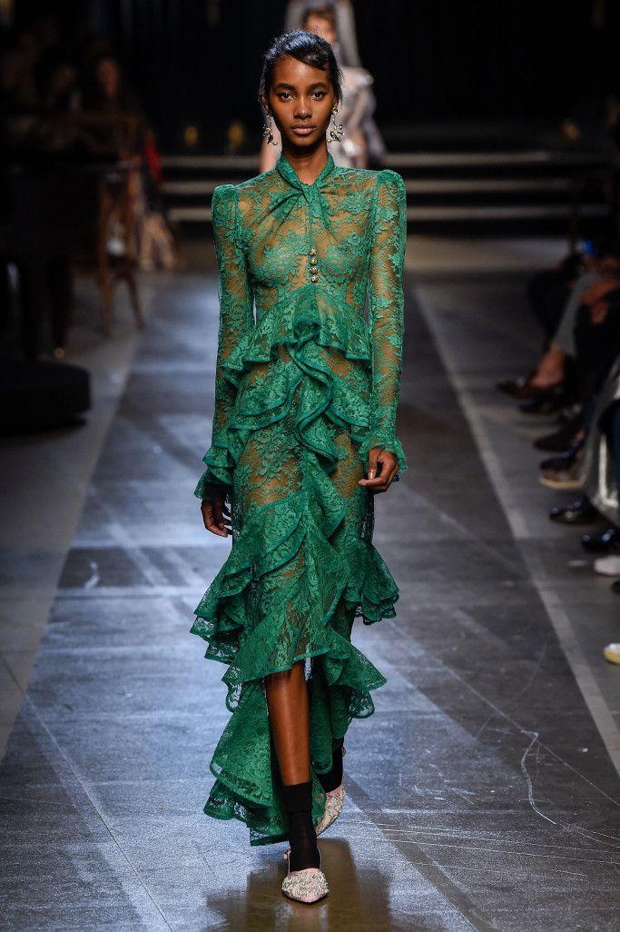 Платье из коллекции Erdem